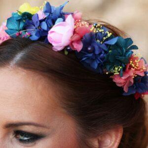 Tocados de flores (Coronas, diademas y tiaras)